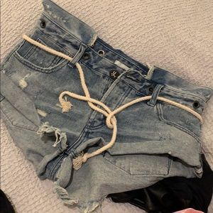 Jean shorts from Planet Blue